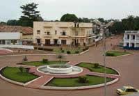 Bangui dans les années 70