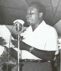 Président Barthélémy Boganda