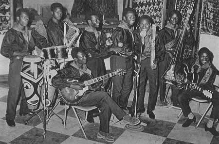 L'orchestre Ok Jazz en 1956